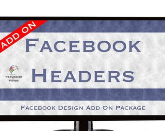 Facebook Header Add On Package - Purchase With Branding Package Only