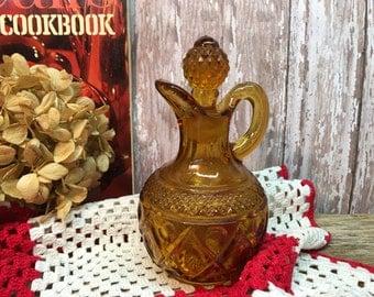 Amber Glass Vinegar Bottle/Oil Cruet/Perfume Bottle