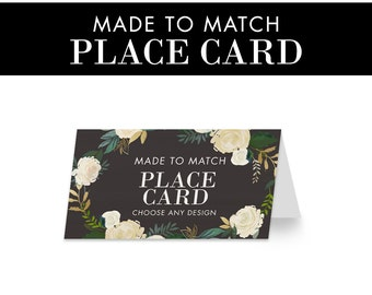Made to Match - Place cards