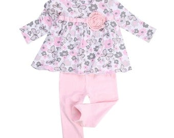 2 piece cotton childs pant set