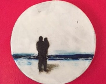Soul Mate picture/ornament, Romantic gift,Valentines Day gift