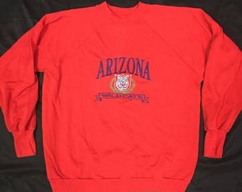 Vintage University of Arizona Crew-Logo 7