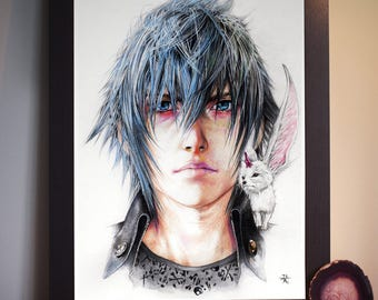 Noctis from Final Fantasy XV - Art Prints A4