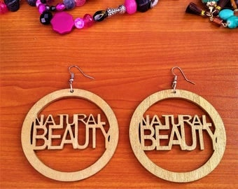 Natural Beauty Earrings (Custom Options)