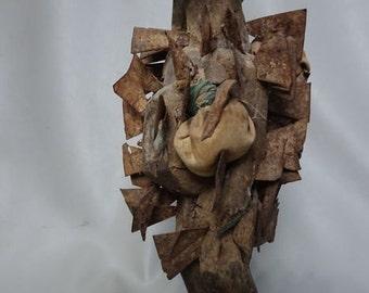 African Nkisi nail figurine - CONGO - D.R. Congo - Fetish statue