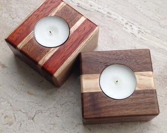 Wooden Candlesticks, Wood Candle, Candle Holder, Candle Wood Holder, Home Decor, Candlestick holder Wood,
