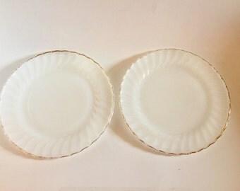 SALE!! Fireking Golden Anniversary dinner plates