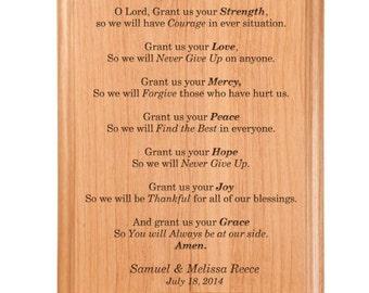 Grant Me Prayer Plaque