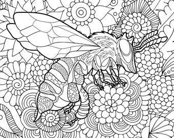 Coloring pages pdf Etsy