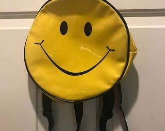 Vintage Smiley Face Backpack