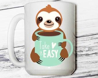 Take It  Easy - coffee mug