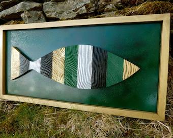 Wood Art: *Fish Frenzy*