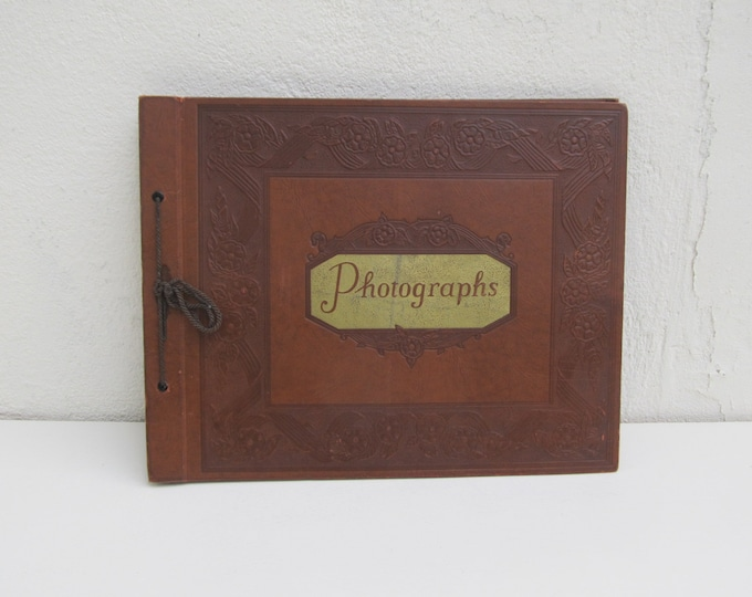 10 Off Coupon On Original Vintage Photo Album Unused Old