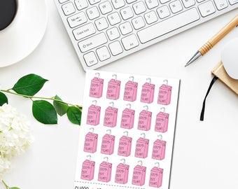 100% Boy Tears - Original Hand Drawn Planner Stickers. Funny, Heartbreaker. Happy Planner, Erin Condren, Travelers Notebook