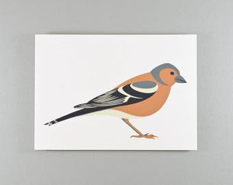 Notecard | Chaffinch | Single card and envelope
