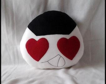 Pillow large onigiri in love cuddly pillow handmade cushion sofa cushions