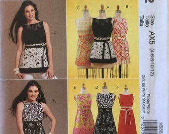 McCalls M5882 Dress Uncut Out of Print Pattern Copyright© 2009