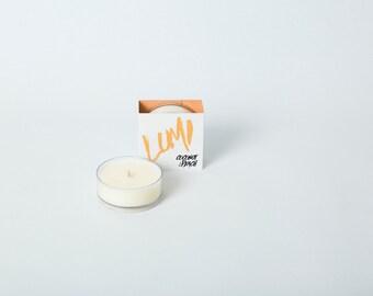 Maxi tealight - coconut and peach