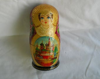 5  Russian Matryoshka Nesting Dolls...