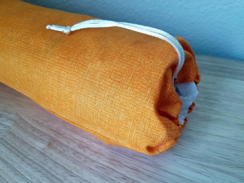 Plastic bag keeper - Tangerine Orange Grocery Bag Holder Plastic Bag Holder Grocery Bag Keeper Plastic Bag Keeper Organizer