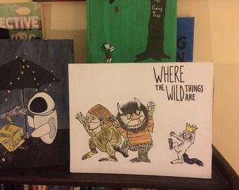 Where the Wild Things Are painting