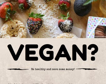 How to be vegan on a budget? Ebook/PDF
