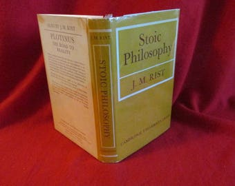 "First Edition ""Stoic Philosophy"" by J.M. Rist"