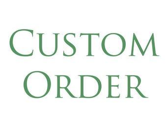 Custom Mermaid Tail order