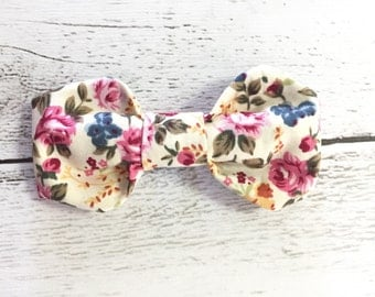 Hair Bow 'Florence' Headband Baby Girl Clip