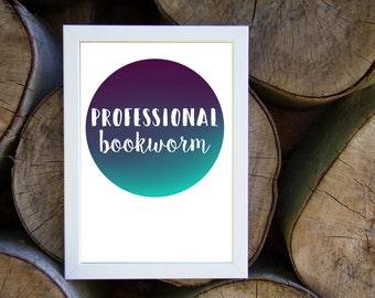 A4 Print - professional booknerd