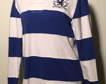 Vintage Ralph Lauren Polo striped rugby long sleeve small
