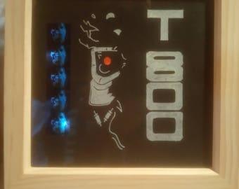 Terminator T800 LED Lit Movie Cell