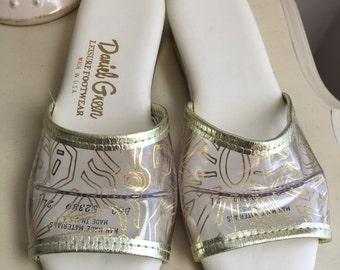 Vintage Daniel Green Footwear