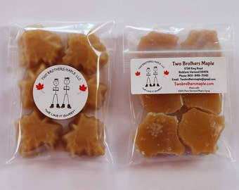 1 Pound Maple Candies made with 100% Pure Vermont Maple Syrup, Free Shipping