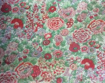 Tana lawn fabric from Liberty of London, Elysian
