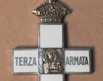 Commemorative Cross of the Third Army (Terza Armata), War of 1915-1918 by L. Fassino of Turino