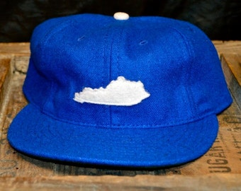 State of KY 100% Wool Cap (Blue)