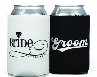 Bride/Groom Can Coolers