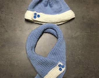 Baby set - Hat scarf