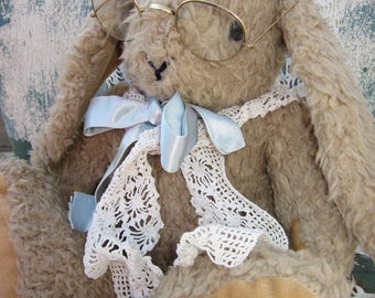 Much Loved Vintage Look Bunny