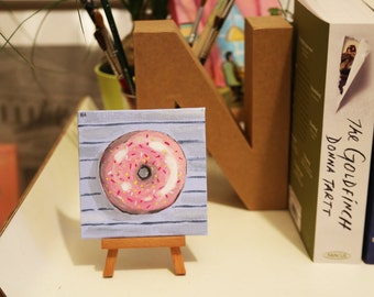 Small donut painting #2