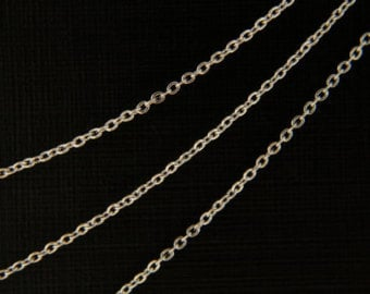 Stainless Steel Necklace Chain with Lobster Clasp - Multiple Lengths
