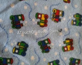 Baby Lovies set of 2 monogrammed With a Bonus Burp cloth