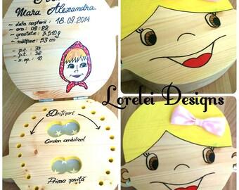 Baby teeth box/Cutie pentru dintii de lapte