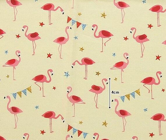 Flamingo stof  4 soorten flamingo stof  schattig flamingo