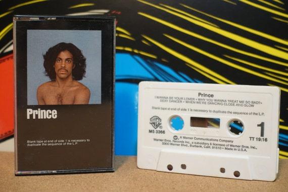 Prince by Prince Vintage Cassette Tape