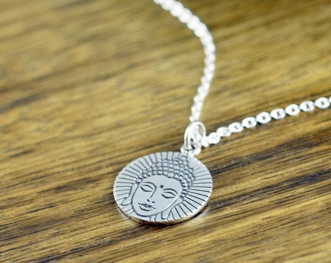 Buddha Necklace -  Buddha Charm Necklace - Yoga Gifts - Boho Necklace - Yoga Necklace - Yoga Jewelry - Gift for Women
