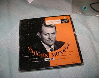 Vaughn Monroe Sings set of 3 45's