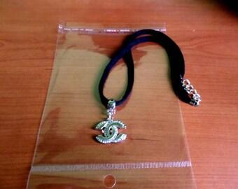 choker cc chanel collar jewelry bijoux necklace