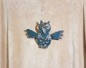 Owl Ornament - Angel Art Design Co. - (OW16)